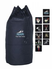 SPORTS LOGO BARREL BAG